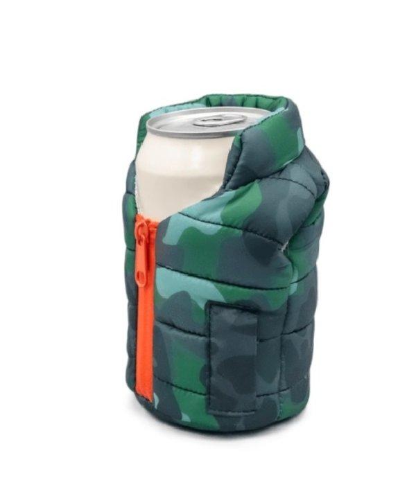 Puffin Coolers Camo Vest Koozie