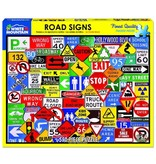 White MTN Puzzles Road Signs 550 Piece Puzzle