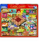 White MTN Puzzles Classic Games 550 Piece Puzzle