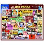White MTN Puzzles Hot Cocoa 1000 Piece Puzzle