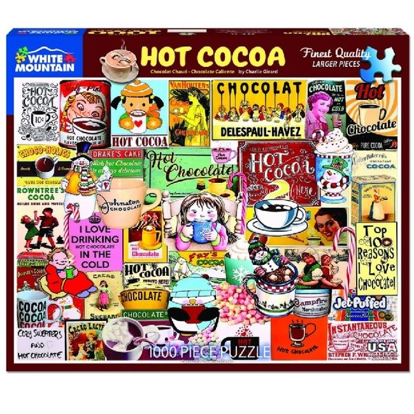 Hot Cocoa 1000 Piece Puzzle