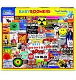 White MTN Puzzles Baby boomer 1000 Piece puzzle