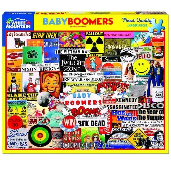 Baby boomer 1000 Piece puzzle