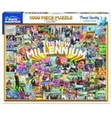 White MTN Puzzles New Millenium 1000 Piece Puzzle