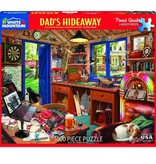 White MTN Puzzles Dad's Hideaway 1000 Piece Puzzle