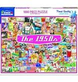 White MTN Puzzles The 1950's 1000 Piece Puzzle