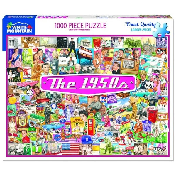 The 1950's 1000 Piece Puzzle