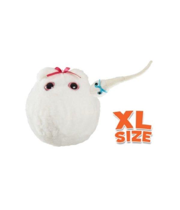 XL Plush Egg with Sperm Plush
