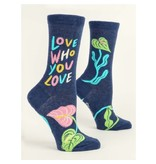 Blue Q Love Who You Love Womens Socks