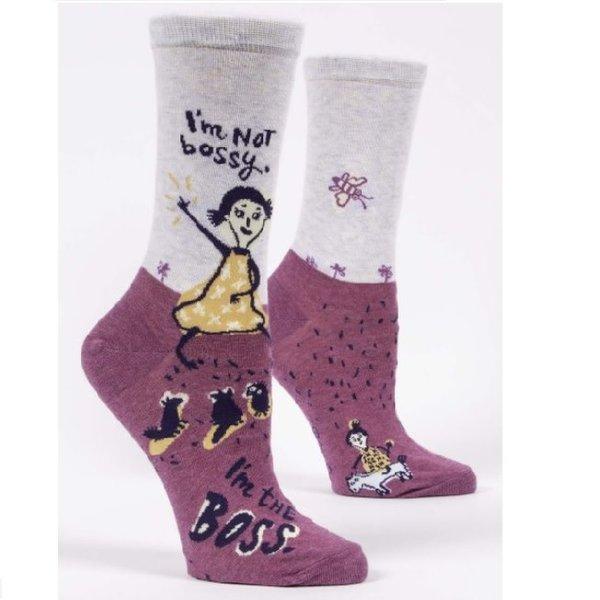 I'm Not Bossy Women's Socks