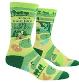 Blue Q Big Golf Guy Men's Socks