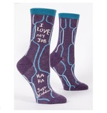 Blue Q I Love My Job Women's Socks