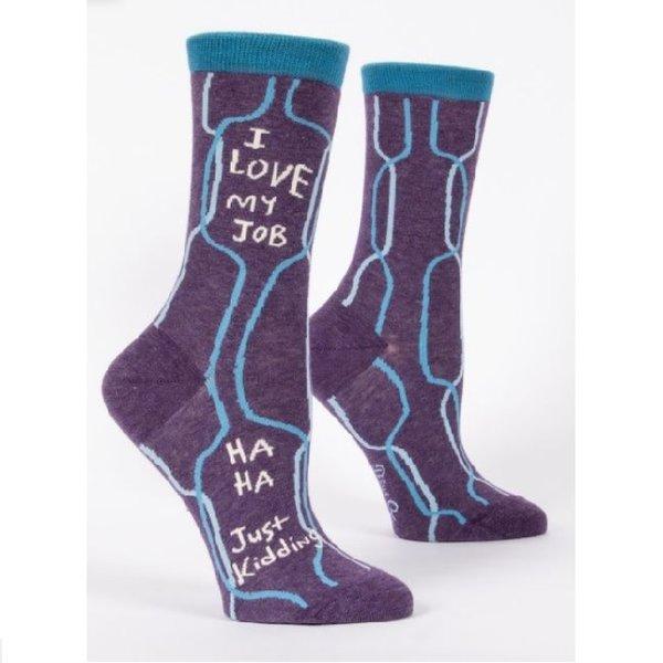 I Love My Job Women's Socks