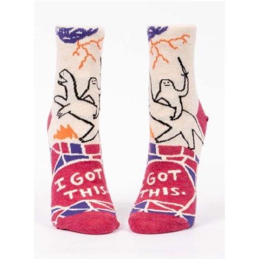 Blue Q I Got This Women's Ankle Socks
