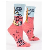Blue Q I Heard You Women's Socks