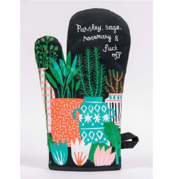 Parsley and Sage Oven Mitt