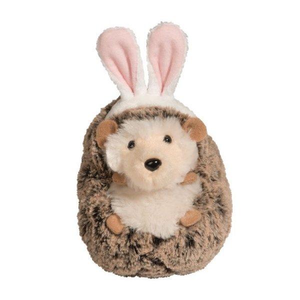 Spunky Hedgehog with Bunny Ears