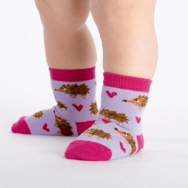 Toddler Socks Hedgehog Heaven