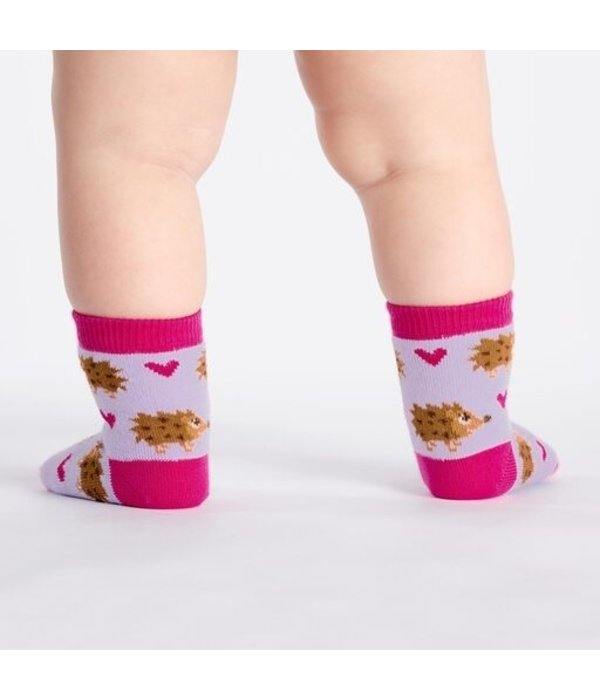 Toddler Socks Hedgehog Heaven