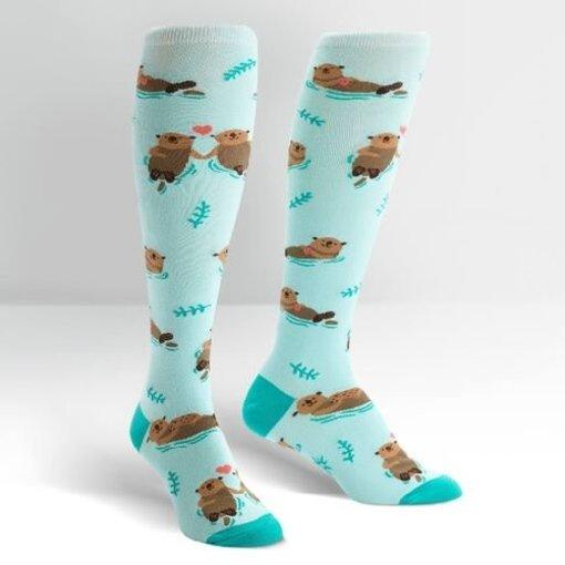 My Otter Half Knee High Women's Socks