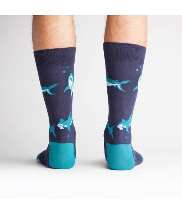 Shark Attack Men's Socks