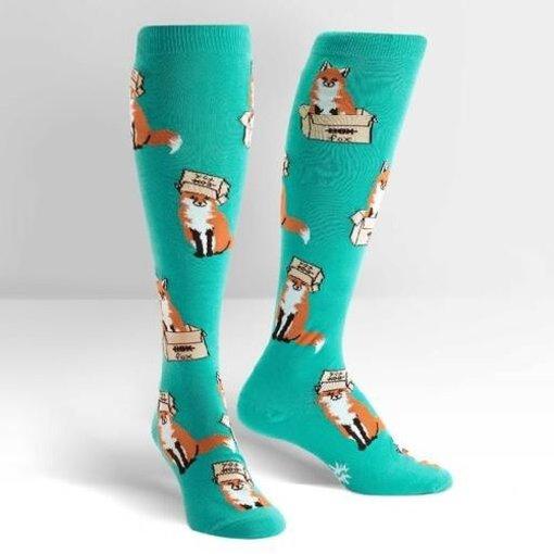 Foxes Knee High Women's Socks