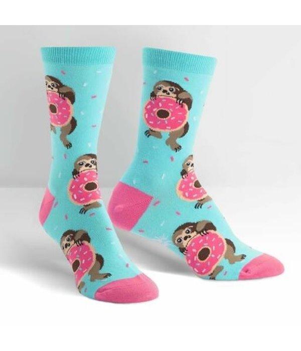 Snackin Sloth Women's Socks