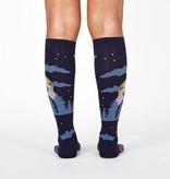 Wolf Knee High Women's Socks