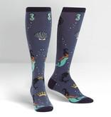 Deep Sea Queen Knee High Women's Socks