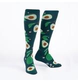 Avocados Knee High Women's Socks