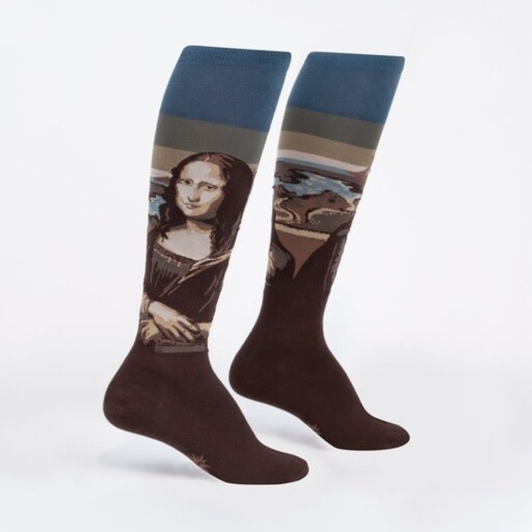 Mona Lisa Knee High Women's Socks