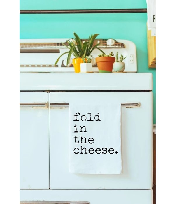 Fold In The Cheese Dish Towel