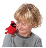 Cardinal Finger Puppet