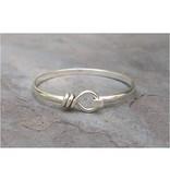 Sterling Silver Loop and Hook Bracelet