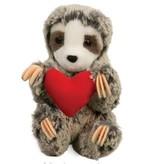 Douglas Toys Slowpoke Sloth With Heart