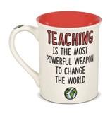 Brave Teacher Mug