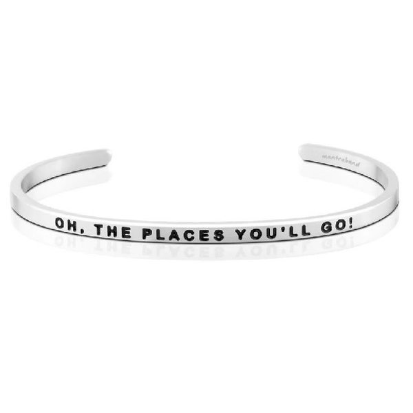 Oh, The Places You'll Go Bracelet