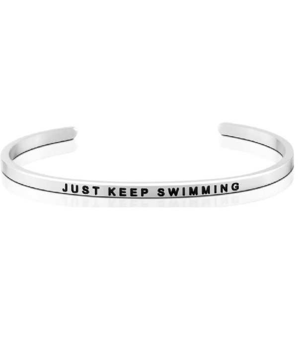 Just Keep Swimming Bracelet