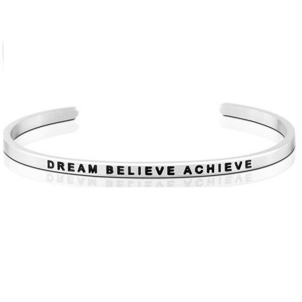 Dream Believe Achieve Bracelet