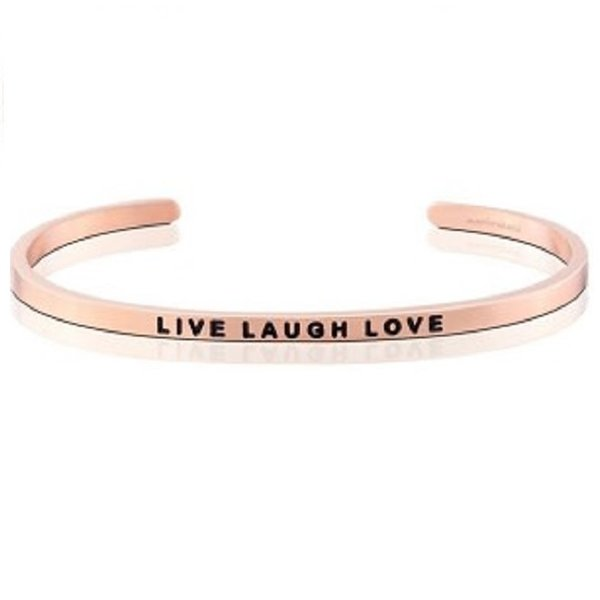 Live Laugh Love Bracelet