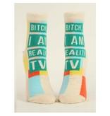 Blue Q I Am Reality TV Women's Ankle Socks
