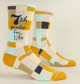 Blue Q 7th Grader For Life Men's Socks