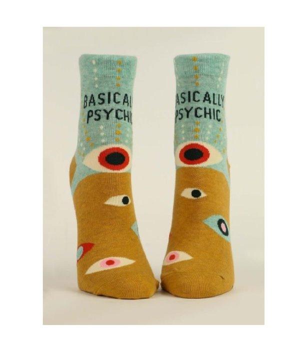 Blue Q Basically Psychic Women's Ankle Socks