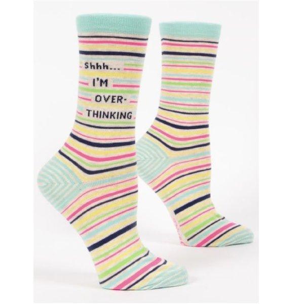 Shhh I'm Overthinking Women's Socks