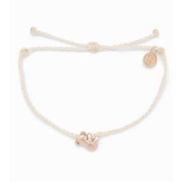 Puravida Rose Gold Koala Charm Bracelet