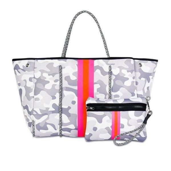 Greyson Rise White Camo Bag