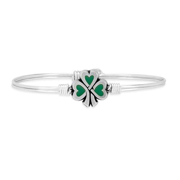 Lucky Green Shamrock Bracelet