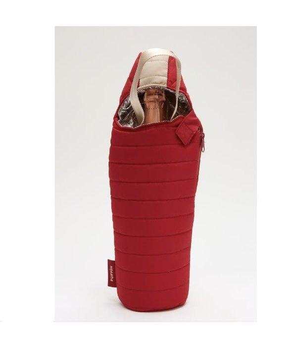 Puffin Coolers Wine Sleeping Bag Merlot/ Tan