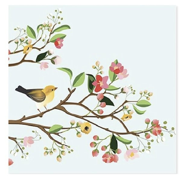 Mother's Day Card Birds of Spring