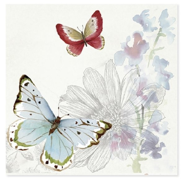 Mother's Day Card Butterflies of Spring
